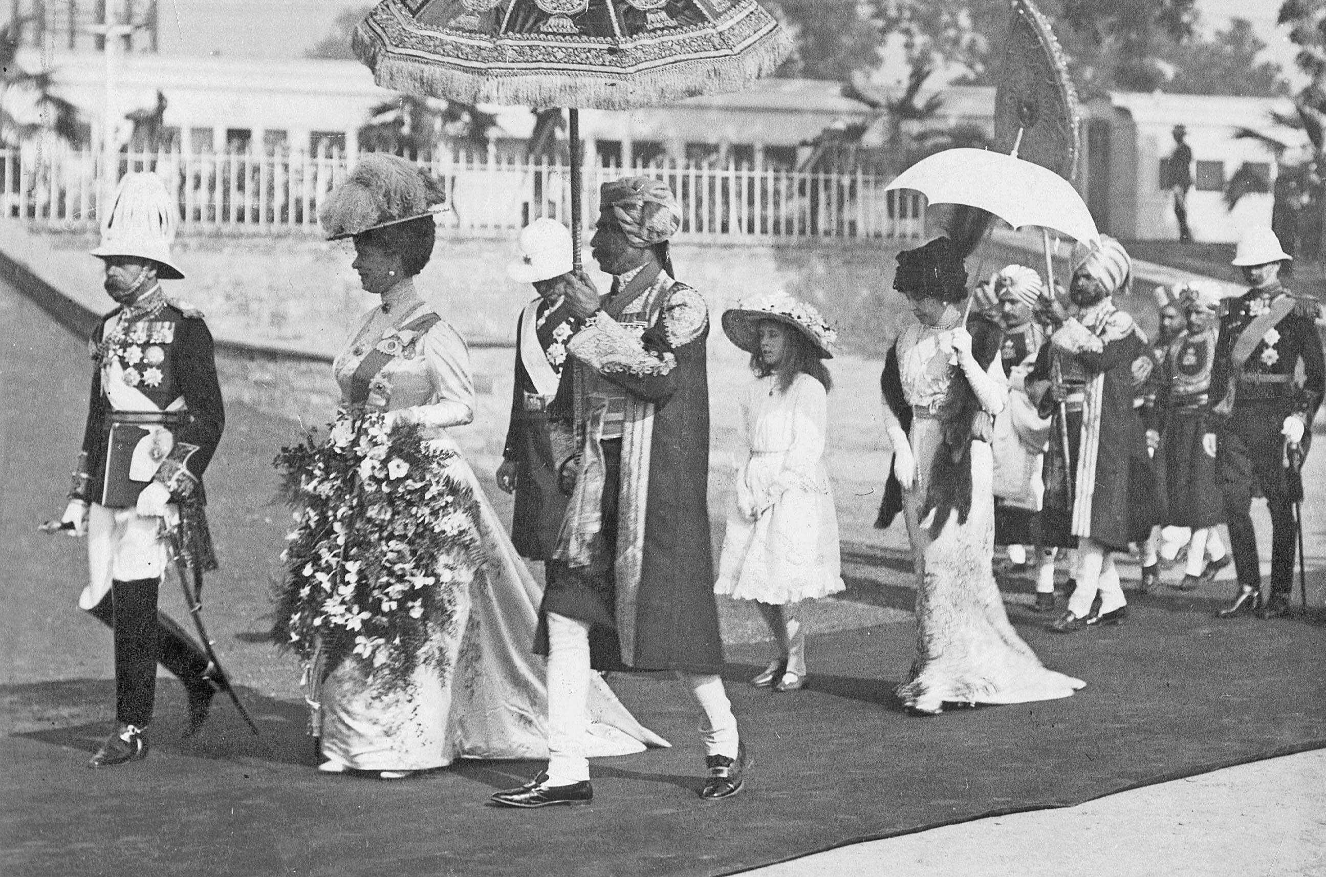 King George V. and Queen Mary in Delhi, 1911